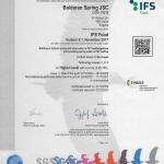 IFS Food 6.1 Серификат