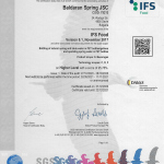 IFS Food 6.1 Certificate